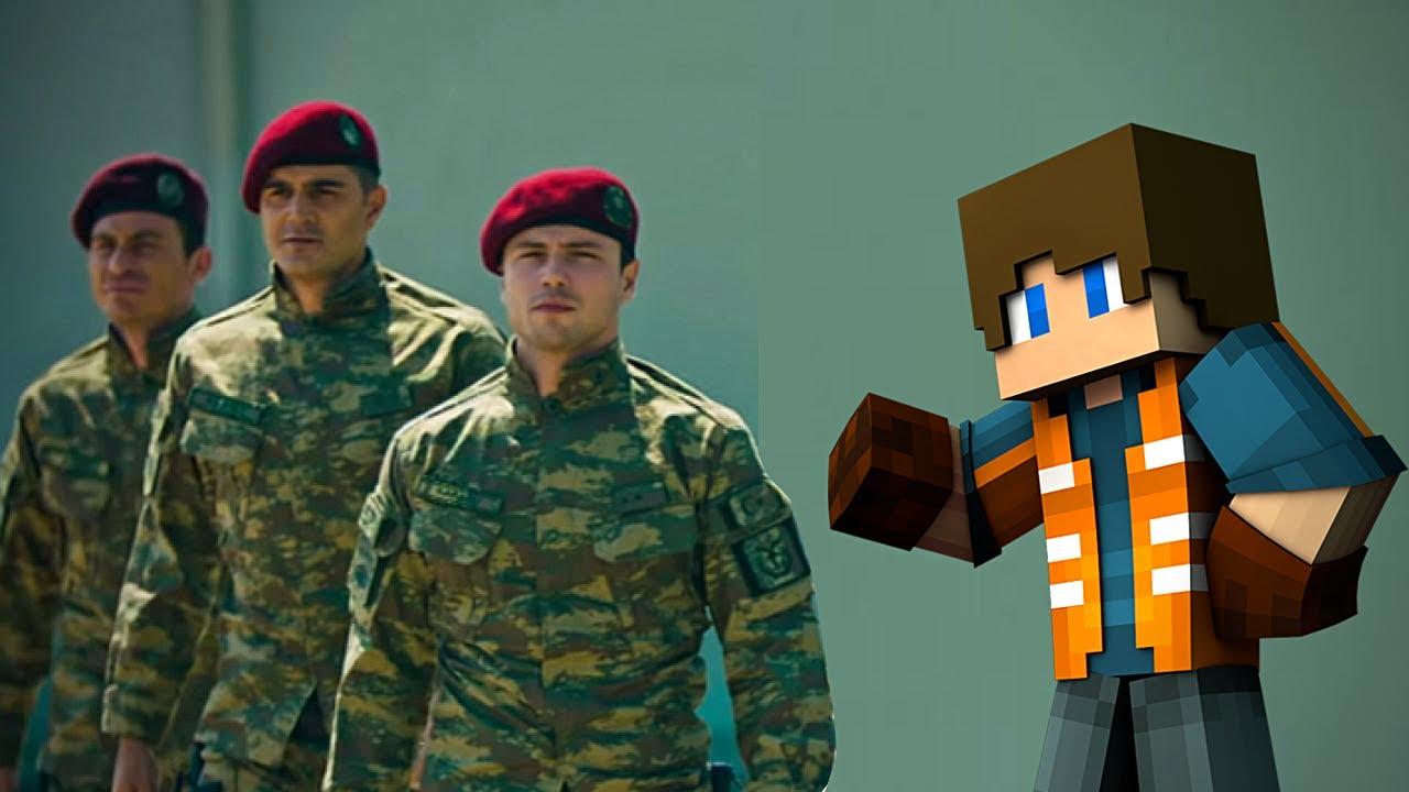 HASAN USTA ŞEHRE ASKERİ ÜS YAPIYOR! 😱 - Minecraft