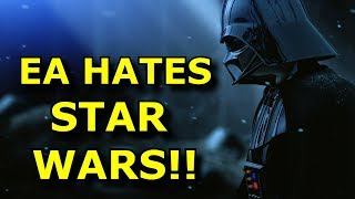 Ea Cancels Another Star Wars Game?! Stop Them! - Angry Rant