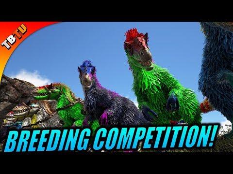 YUTYRANNUS BREEDING COMPETITION AND KAPRO ENCLOSURE! Ark Survival Mutation zoo