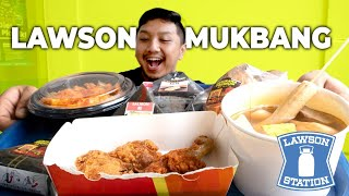 MUKBANG LAWSON MINIMARKET JEPANG! | ABSURD! ADA ROTI ISI MIE PEDAS!