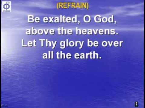 CFC EDMONTON - CLP SONG - BE EXALTED O GOD with lyrics