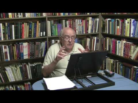 Dr. Robert C. Newman, Synoptic Gospels, Lecture 7, Exegesis of Parables