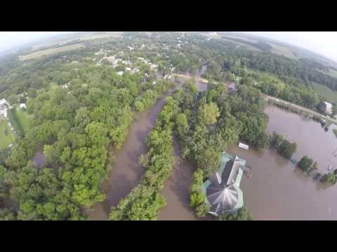 Spillville Flood 8/24/2016