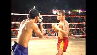 a traditional fighting sport in Asia
