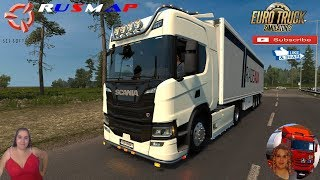 Euro Truck Simulator 2 (1.37)   Next Generation Scania P G R S [v.2.1] by Eugene RusMap 2.1 [1.37.x] by Aldimator FMOD ON and Open Windows Naturalux Graphics and Weather Spring Graphics/Weather v3.5 (1.37) by Grimes + DLC's & Mods https://forum.scssoft.co