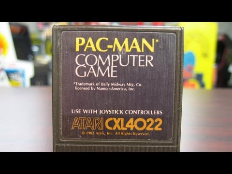 Classic Game Room - PAC-MAN Review For Atari Computer