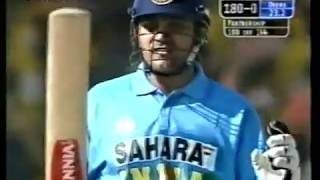 Virender Sehwag's 1st ODI Century in India - 114* vs West Indies 3rd ODI 2002 @ Rajkot
