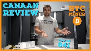 Can Canaan Compete W/ Bitmain ASIC Mining | Avalon 841 BTC Miner Review
