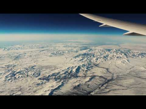 Greenland, Hudson Bay, Wyoming Winter Wonderland From B-787 Dreamliner