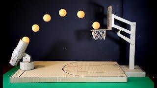 Сделать баскетбольную игру с использованием картона