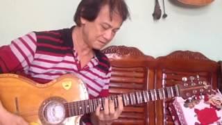 Đệm nhạc bài Dòng sông quê em- Văn Tư