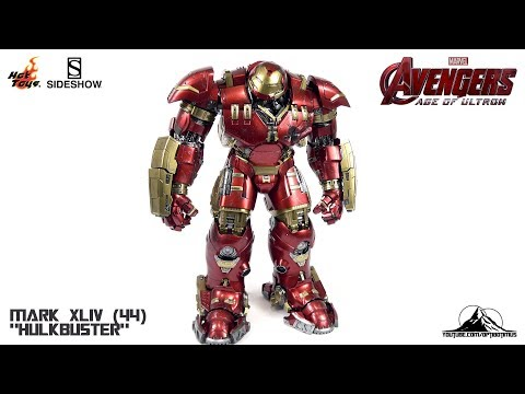 Optibotimus Reviews: Hot Toys Avengers Age of Ultron IRON MAN MK XLIV (44) HULKBUSTER