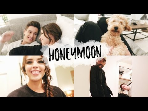 GETTING READY FOR OUR HONEYMOON + MTV AWARDS | Vlog