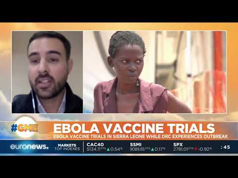 Ebola vaccine trials in Sierra Leone while DRC outbreak | #GME