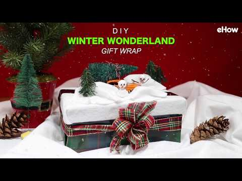Winter Wonderland Gift Wrap