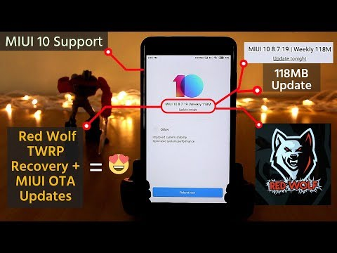 Install OFFICIAL OTA Updates With Red Wolf TWRP Recovery