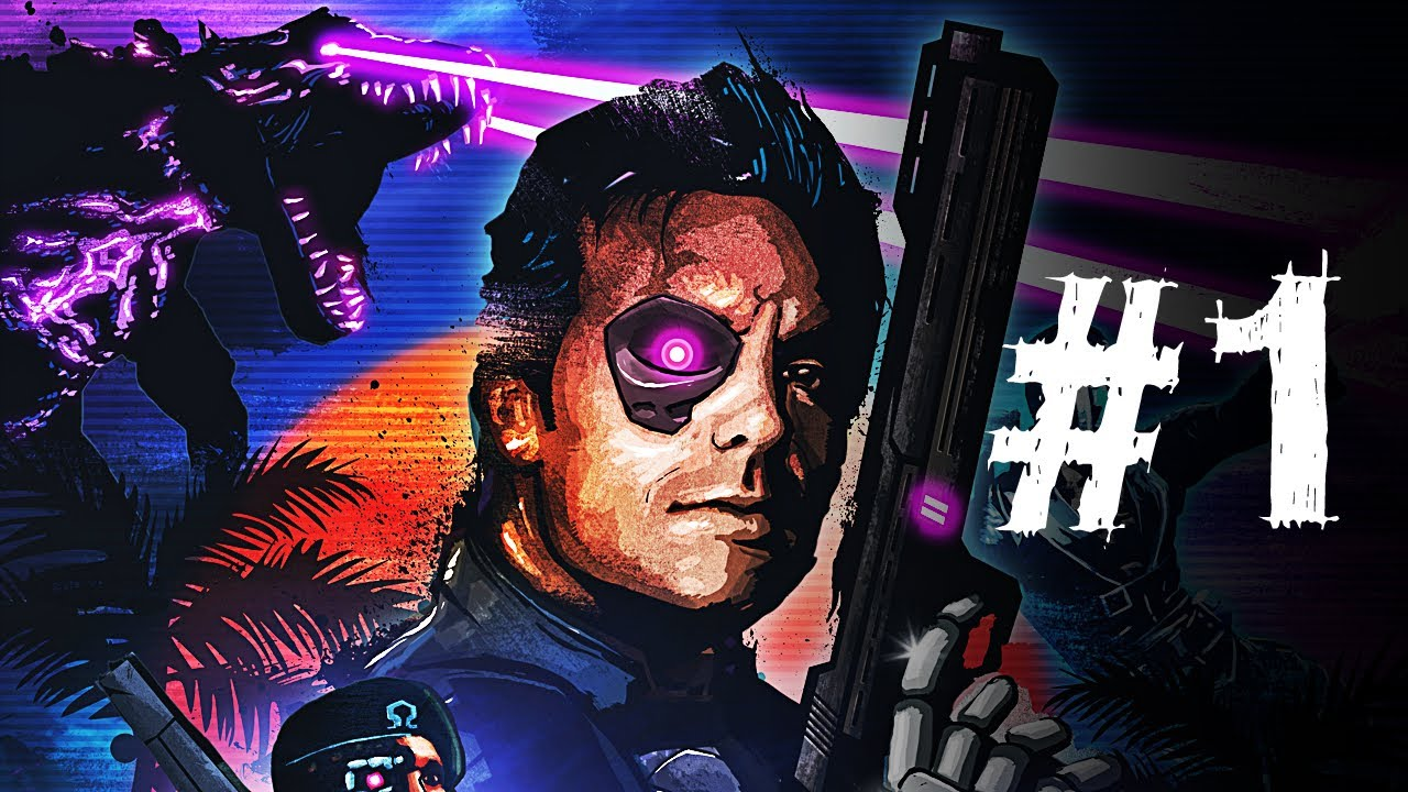 Far Cry 3 Blood Dragon Gameplay Walkthrough Part 1 No Time To Bleed Mission 1 Youtube