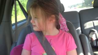 Isabella Loves Car Rides with Wind Therapy. Severe Autism.