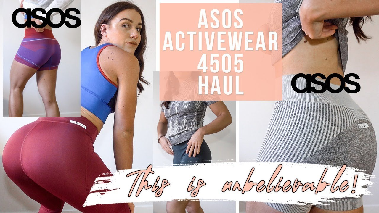 ACTIVEWEAR HAUL   ASOS 4505 AFFORDABLE & FLATTERING COLLECTION