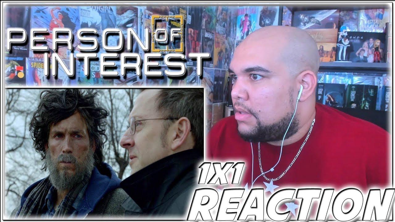 "Download Person of Interest Reaction Season 1 Episode 1 ""Pilot"" 1x1 REACTION!!!"