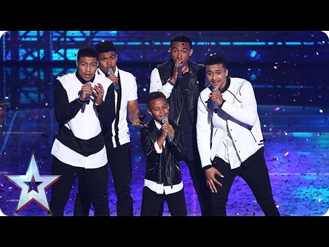 Will Great Britain love The Sakyi Five? | Semi-Final 3 | Britain's Got Talent 2015