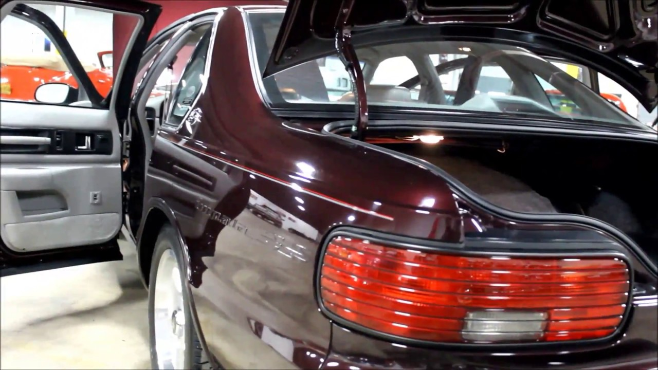 1996 Chevrolet Impala Ss Youtube 1951 Super Sport