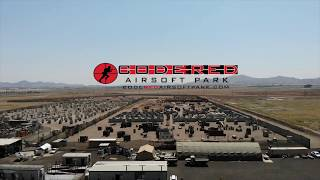 Code red airsoft park drone run thru / game play