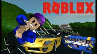 I GOT RAN OVER BY A CAR IN ROBLOX