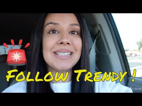 Follow Trendy Around VLog