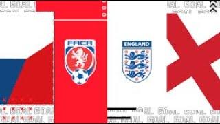 INGHILTERRA VS REPUBBLICA CECA SU FIFA 20