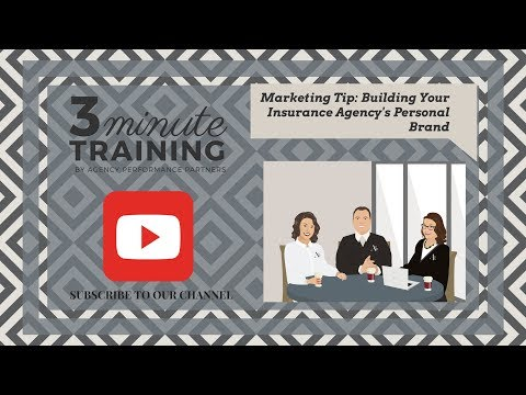 Marketing Tip: Building Your Insurance Agency's Personal Brand