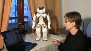 NAO-robot unboxing / Finnish: Näin Nao tuli kotiin [w/subtitles]