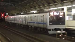 小田急線 経堂駅を通過する急行