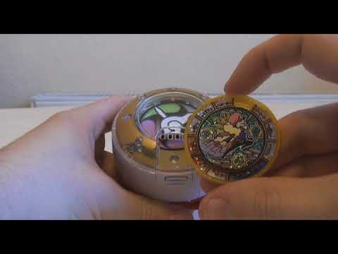 Yokai Watch: New Yokai Medal Review 30/March/18 (Treasure 01)