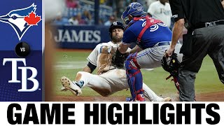 Blue Jays vs. Rays Game Highlights (9/20/21) | MLB Highlights