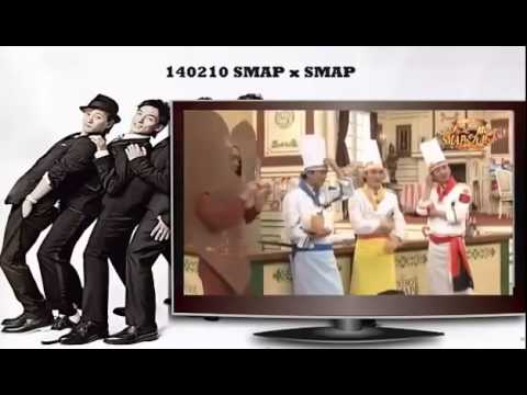 SMAPxSMAP 140210 Ishihara Satomi, Mizukawa Asami, Mizuhara Kiko (石原さとみ、水川あさみ、水原希子)