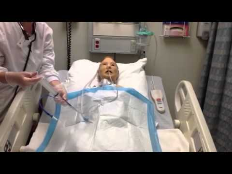 Assessing a patient with a NG tube