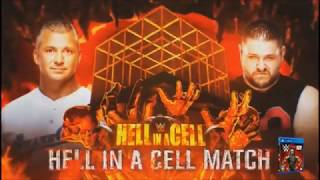 WWE Hell in a cell 2017: Shane mcmahon vs Kevin Owens