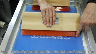 Screen Printing T-Shirts: What's The Best Squeegee Durometer & Size?
