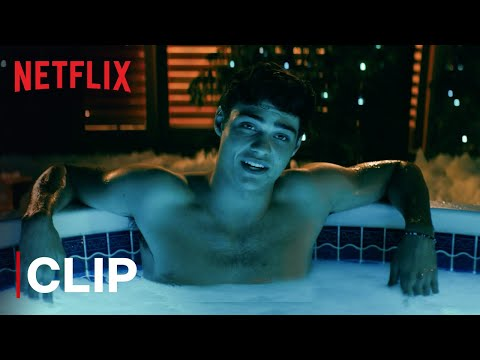 Noah Centineo & Lana Condor's Hot Tub Scene | To All The Boys I've Loved Before | Netflix India