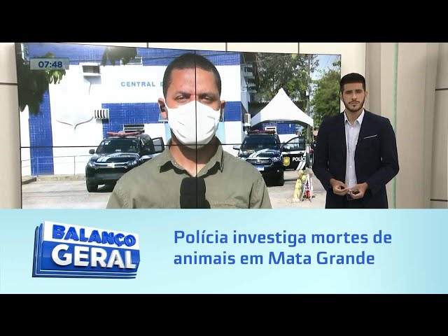 Polícia investiga mortes de animais em Mata Grande