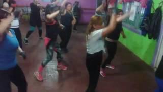 Aerobox chicas de New body gym