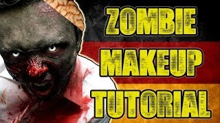 Zombie Makeup Tutorial | Get Germanized Edition