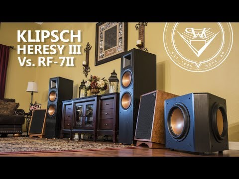 Klipsch Heresy III vs Klipsch RF 7II Speaker Review