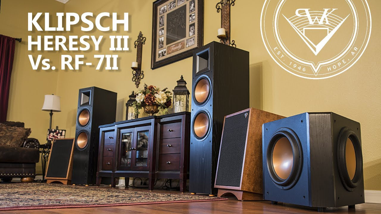 Dating klipsch heresy speakers specifications