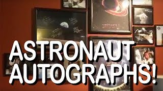 Tour of my Astronaut Autographs! Archived Live Stream