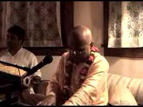 Bhakti Charu Swami Evening Bhajan
