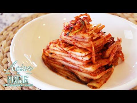 Real Korean Napa Cabbage Kimchi