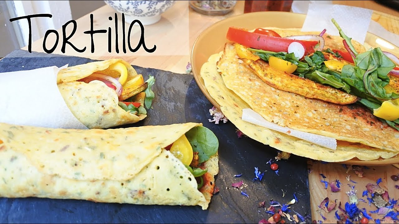 Tortilla Sans Gluten { Fait Maison } Vegan Fajitas - YouTube