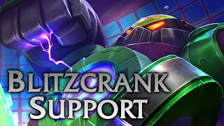 League of Legends | Battle Boss Blitzcrank Support - Full Game Commentary